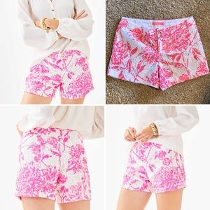 NWT Lilly Kelly Lace Shorts